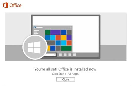 office-365-install-complete